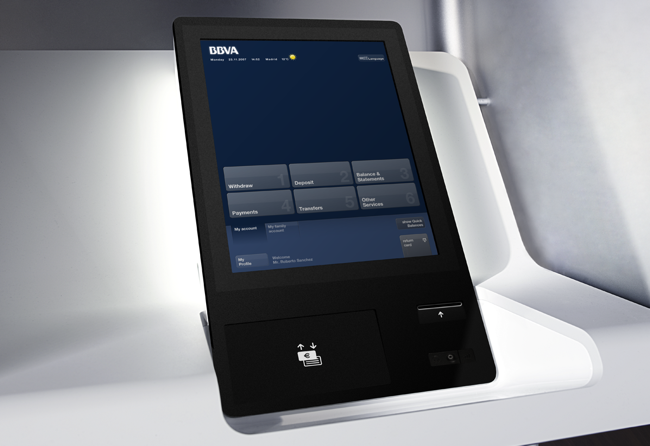 A Radical Atm Redesign That S Sexy Ipad Enabled Co